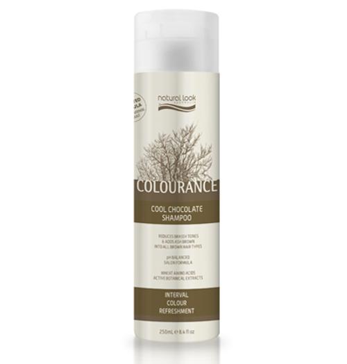 Natural Look Colourance Cool Chocolate Shampoo 250ml