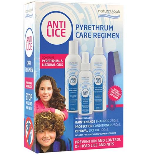 Natural Look Anti Lice Regimen Packs