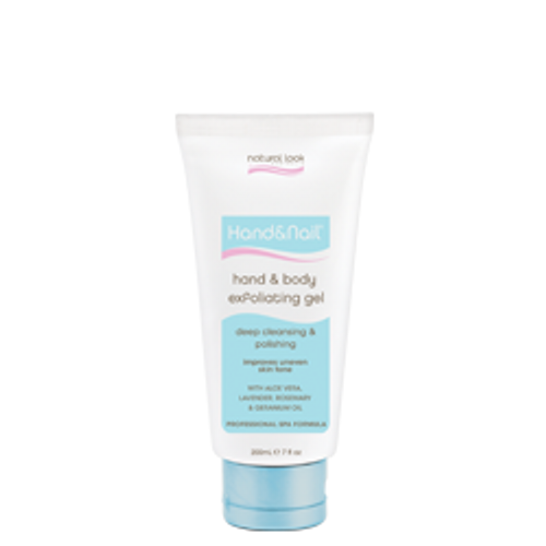 Natural Look Hand & Body Exfoliating Gel 200ml