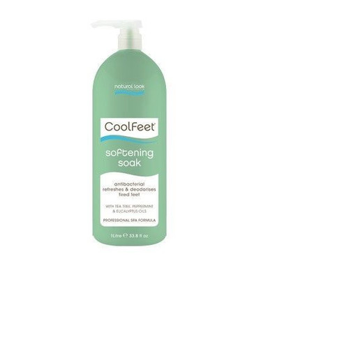 Natural Look Cool Feet Softening Soak 1lt