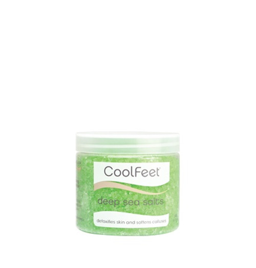 Natural Look Cool Feet Deep Sea Salt Soak 500g