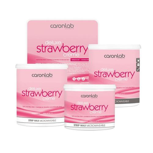 Caronlab Strawberry Creme Strip Wax Microwaveable