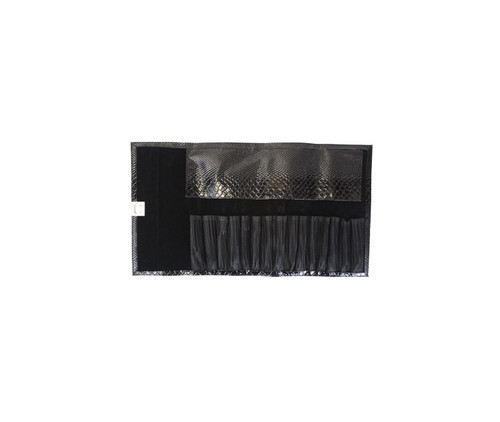 Black Reptile Case 15 Slot Flat