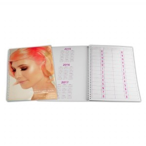 Appointment Book 4 Column 15min 50 page