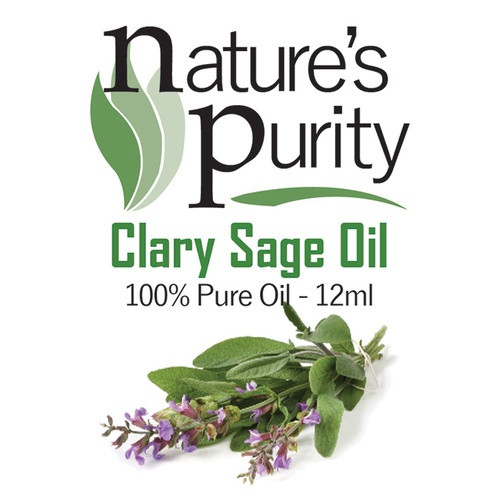Nature's Purity Clary Sage Oil 12ml