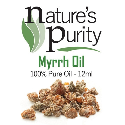 Nature's Purity Myrrh Oil 12ml
