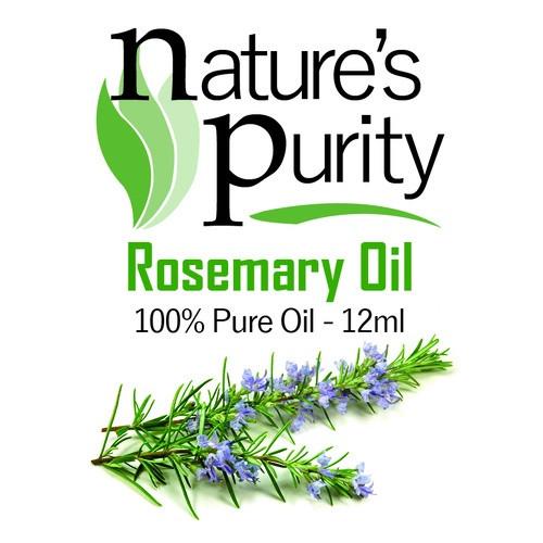 Nature's Purity Rosemary Oil 12ml