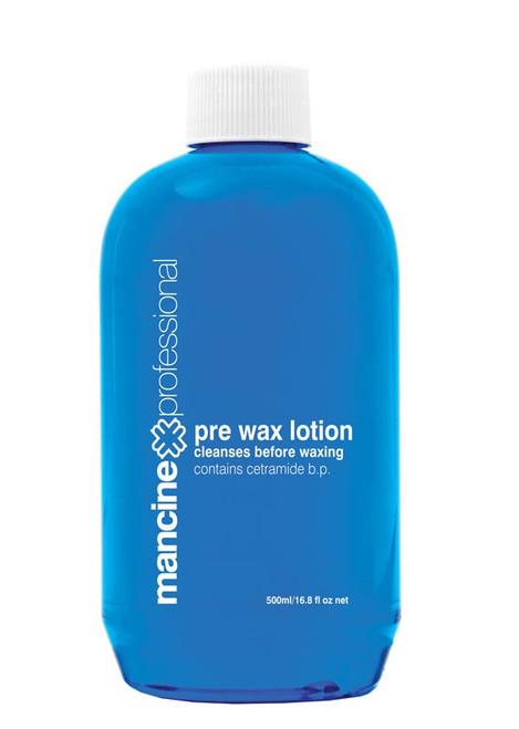 Mancine Pre Wax Lotion Blue 500ml