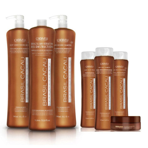 Brasil Cacau Keratin Treatment Starter Kit
