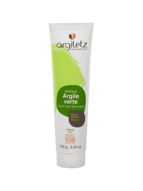 Argiletz Masque Argile Verte Green Clay Face Mask 100g (Discontinued Item)