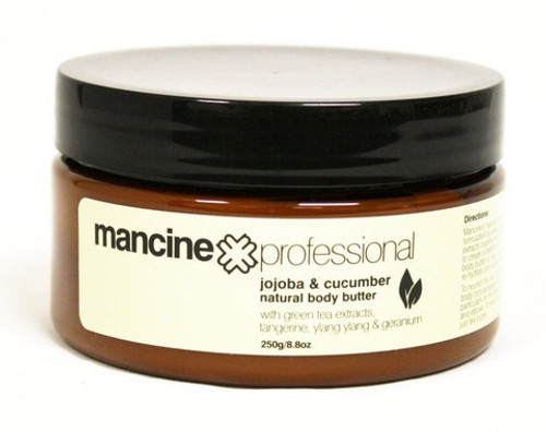 Mancine Jojoba & Cucumber Natural Body Butter 250gm