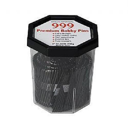 "999 Premium Bobby Pins 2""inch Black 250g"