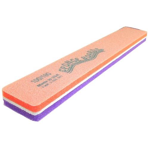 Sponge Board Purple & Orange Sponge Buffer 100/180