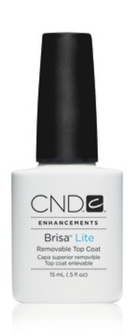 CND Brisa Lite Gel Removable Top Coat 15ml (Discontinued product with brand)