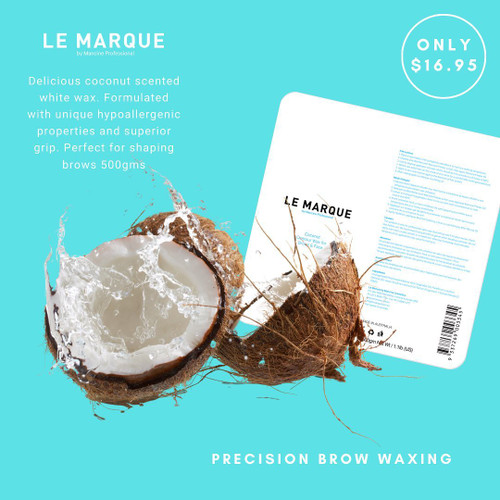Le Marque by Mancine Professional Contour Wax for Brows & Face 500g