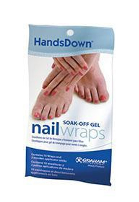 Handsdown Nail Wraps 10pc (Removed from original packaging due to shipping issue Discontinued with brand)