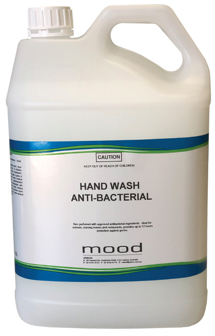 Hand Wash Anti-Bacterial by InMood 5ltr