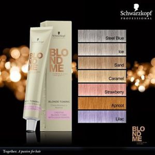 Schwarzkopf Professional Blonde Me Lifting Creme Caramel 60ml (Discontinued Item)