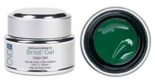 CND Brisa Color Gel Green 14g (Discontinued Item)