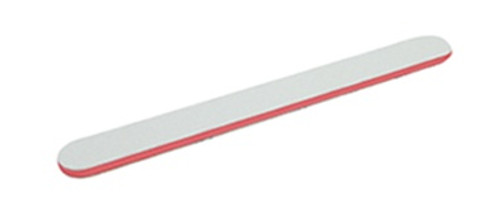 Hawley Straight White Cushion Red Centre File 120/120