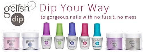 Gelish Dip Coloured Dip Powders 23g