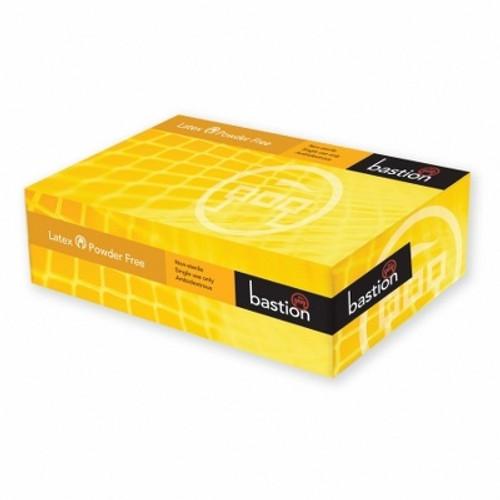 Bastion Premium Latex Powder Free Gloves 100pc