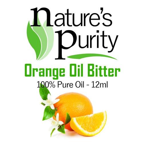 Nature's Purity Orange Oil Bitter 12ml