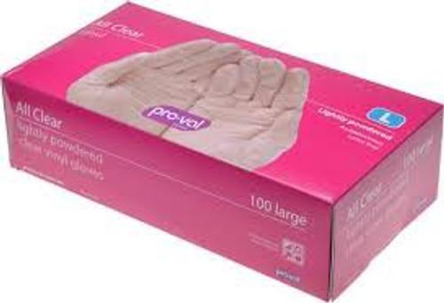 Lycon Pro Val Vinyl Lightly Powdered Gloves