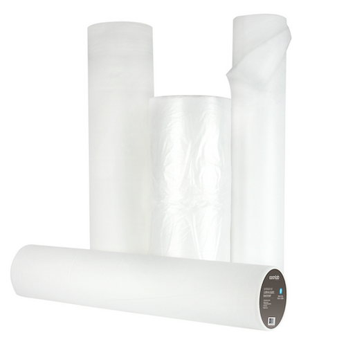 Caronlab Pure Cellulose Paper Bed Roll Light 54cm x 100mtr (40cm Perforation)