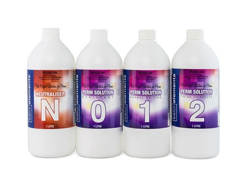 Salon Elements The Perfect Solution for Perms Range