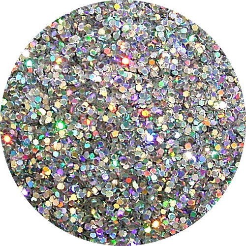 Perfect Nails Glitter Holo Silver Solvent Stable 5g