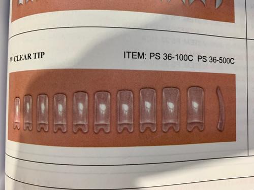 Sina Clear Tips 100pc Box