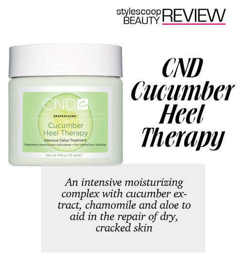 CND Cucumber Heel Therapy Treatment