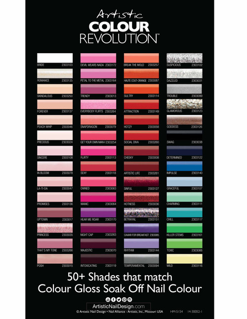 Artistic Colour Revolution - Reactive Nail Lacquer 15ml