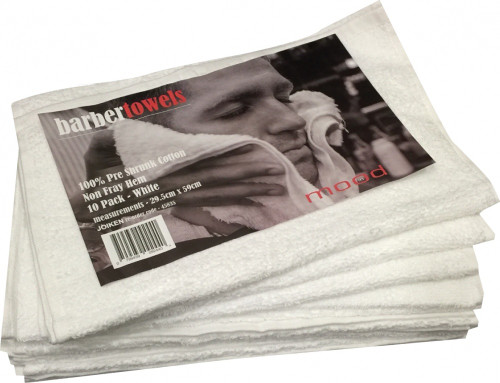 Barber Towels 10pc by InMood