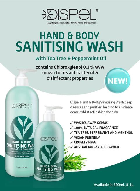 Dispel Hand & Body Sanitising Wash
