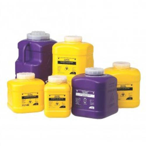 Bio-Hazard Collector Sharps Containers