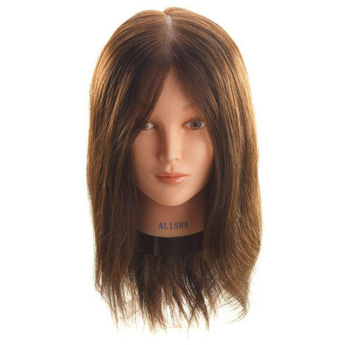 Hi Lift Mannequin Head Alisha 100% Human Hair