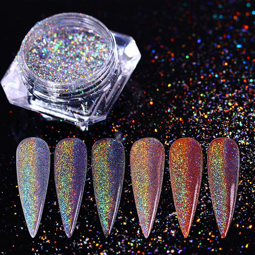 Born Pretty Nail Art Glitter/Holographic/Chrome Powders