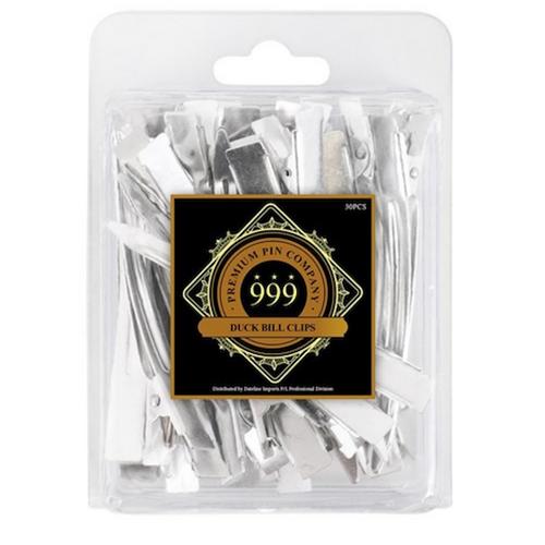 999 Premium Pin Company Steel Duck Bill Clips 902 30pc
