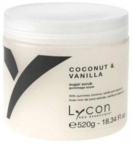 Lycon Coconut & Vanilla Sugar Scrub