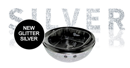 Belava Trio Pedicure Bowl - Silver