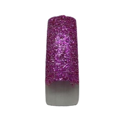 Pre Designed Hot Pink Glitter Tips 70pc