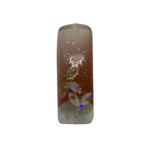 Pre Designed Copper Floral Design Tips 70pc
