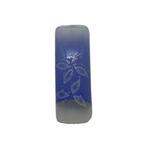 Pre Designed Blue with Floral Design Tips 70pc