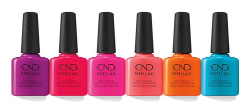 CND Shellac Summer City Chic Collection