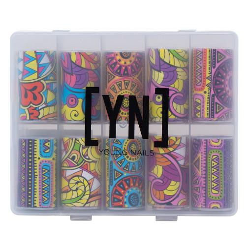Young Nails Boho Foil Kit 10pc