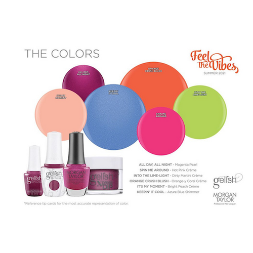 Gelish Feel the Vibes Collection