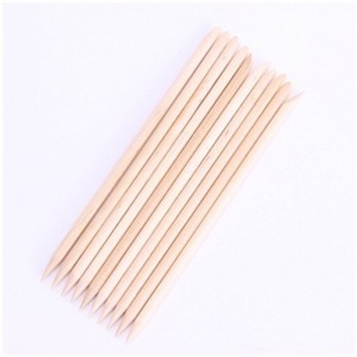 Cuticle Wood Sticks Double Bevel Edge