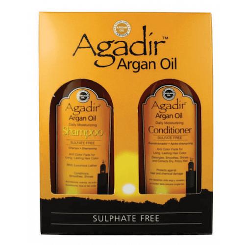 Agadir Argan Oil Daily Moisturizing Shampoo/Conditioner Pack 366ml